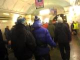 метро перед игрой Спартак-Локомотив март 2013