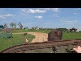 Поездка на лёгком плавающем танке ПТ-76.